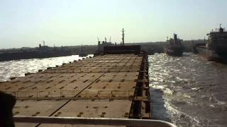 Beaching Msc Tina for ship breaking