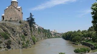 #114. Тбилиси (Грузия) (очень красиво)(Самые красивые и большие города мира. Лучшие достопримечательности крупнейших мегаполисов. Великолепные..., 2014-07-01T02:04:03.000Z)