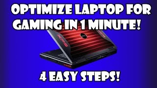 How To Optimize/Improve Laptop For Gaming?4 Easy Steps! (2015)