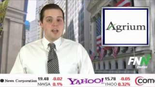 Agrium Tops Estimates And Sees 2012 Pickup In Demand
