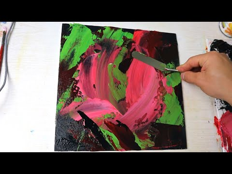 Fish art painting | Acrylic Painting for Beginners | Daily challenge #72