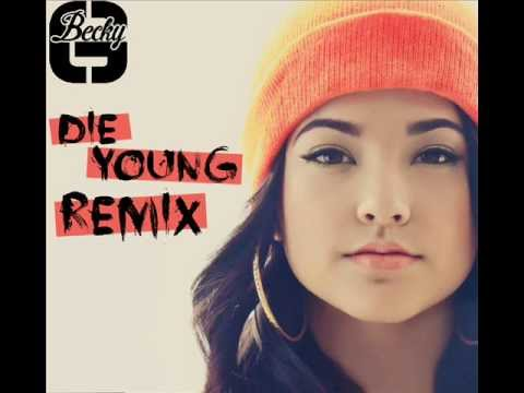 Ke$ha - Die young (cover by Becky G)  Remix (Version ardilla)