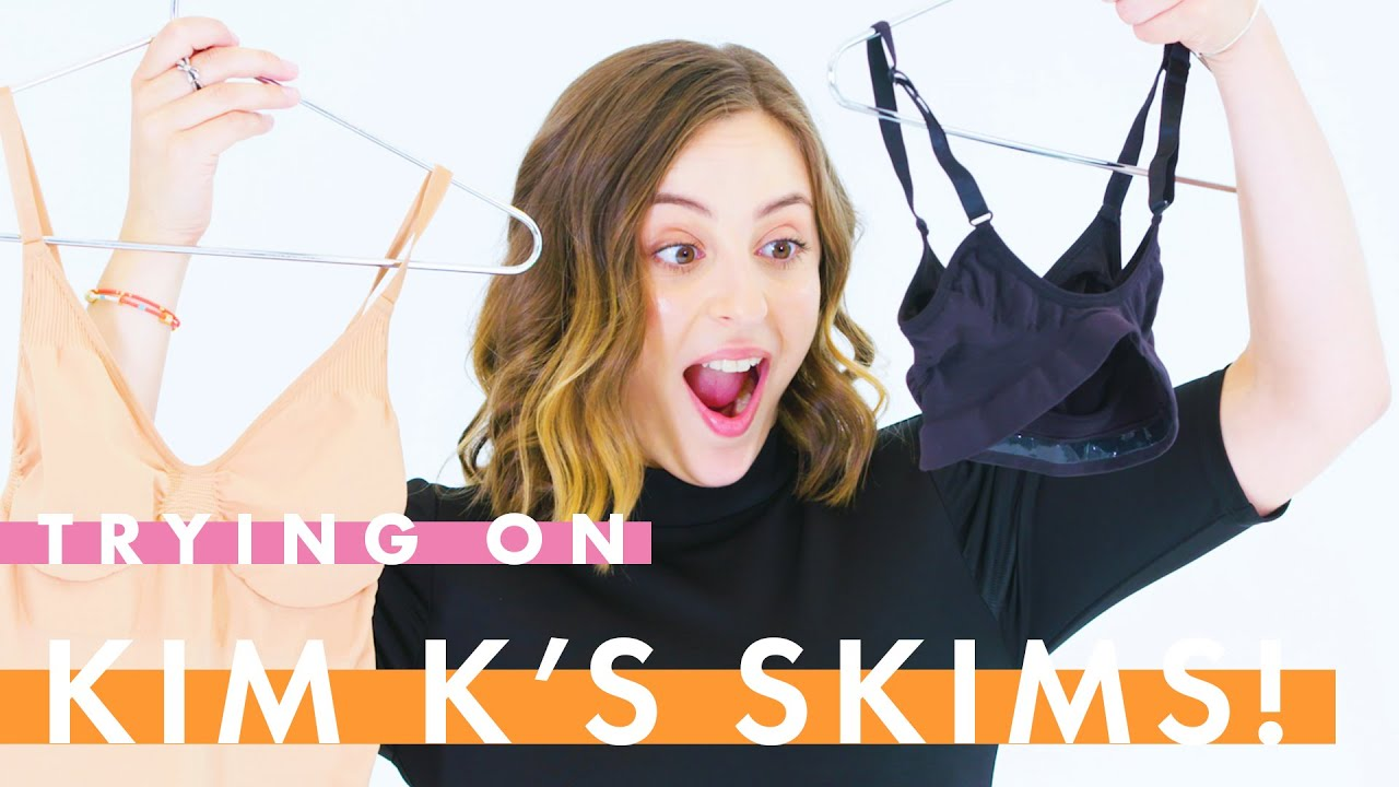 We tried Kim Kardashian's SKIMS shapewear