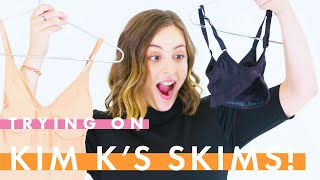 5 Womens' Brutally Honest Reviews of Kim Kardashian's SKIMS Shapewear | Actual People Try On | Cosmo
