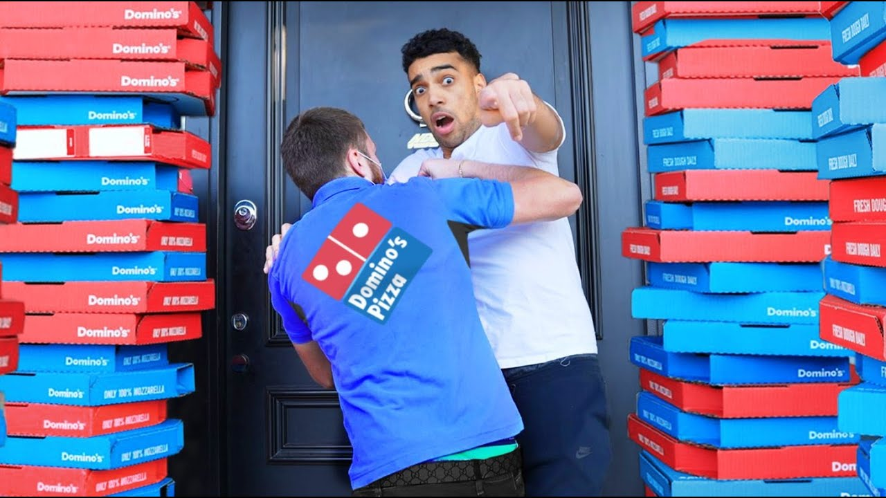 PRANKING Pizza Delivery Men Then TIPPING Them