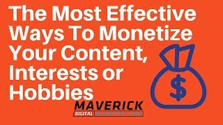 The Best and Worst Ways To Monetize Your Content