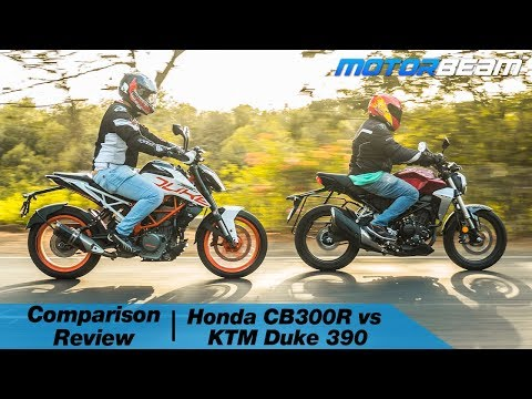 Honda CB300R Vs KTM Duke 390 - Rs. 3 Lakh Decision | MotorBeam