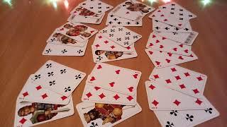 ♣ КРЕСТОВЫЙ КОРОЛЬ,  цыганский, гадание онлайн на  игральных  картах,  ближайшее будущее