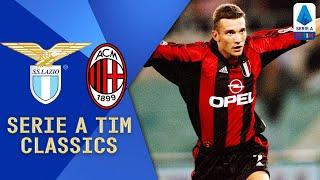 Watch this classic 8-goal thriller in full!   serie a timlazio: marchegiani; favalli, mihajlovic, nesta, negro; verón, almeyda, simeone, conceição, boksic, s...