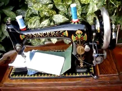 How To Thread An Old Singer Sewing Machine Mesmerizing The