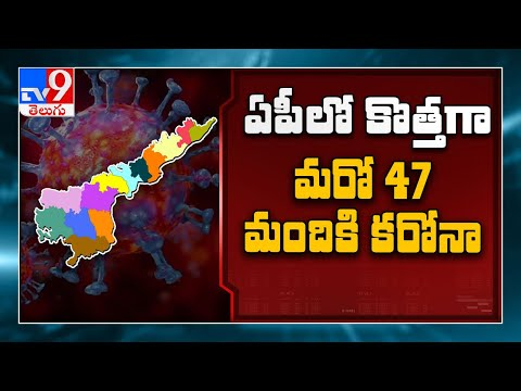 47 new Covid 19 cases in Andhra Pradesh, tally reaches 2,714 - TV9