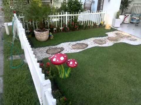 decoração de jardim em condominio de luxo - YouTube