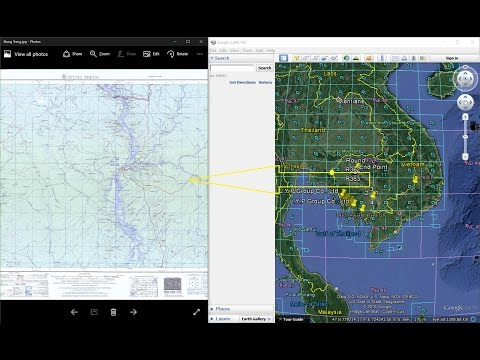 How To Download Topographic Maps From Google Earth.