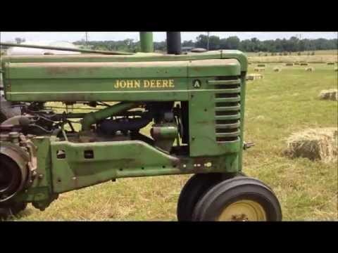 Square Baling With Vintage Equipment