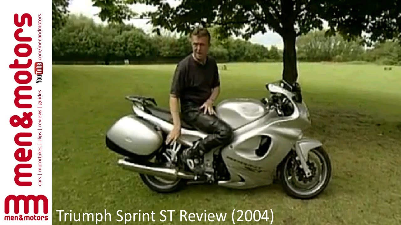 triumph sprint st review 2004 youtube. Black Bedroom Furniture Sets. Home Design Ideas