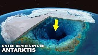 Was ist unter dem Eis in der Antarktis?