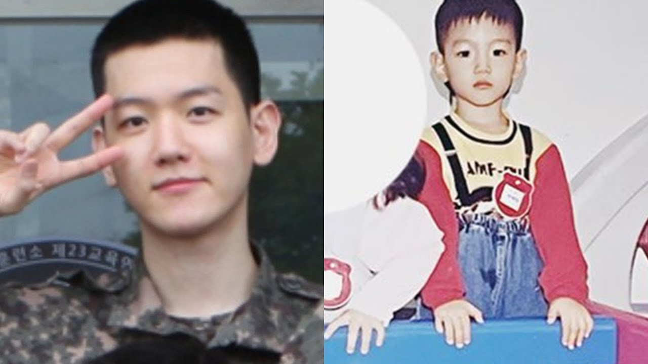 Netizens talk about how Baekhyun looks like a teenager with a buzz cut even though he's 30