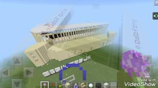 Minecraft Vodafone Arena (Park) Stadyumu Beşiktaş JK