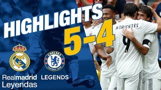 corazn classic match real madrid leyendas 5 4 chelsea legends