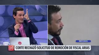 """Abogado del fiscal Arias: """"No creemos en las peleas personales, esto es un conflicto jurídico"""""""