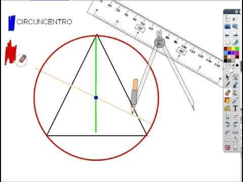 Circuncentro y Circunferencia Circunscrita - Circumscribed Circle