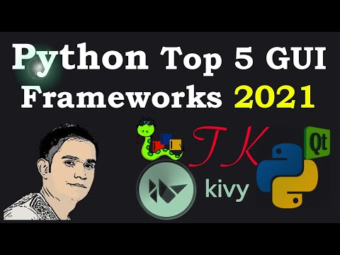 Python Top GUI Frameworks For 2020 | Introduction & Installation