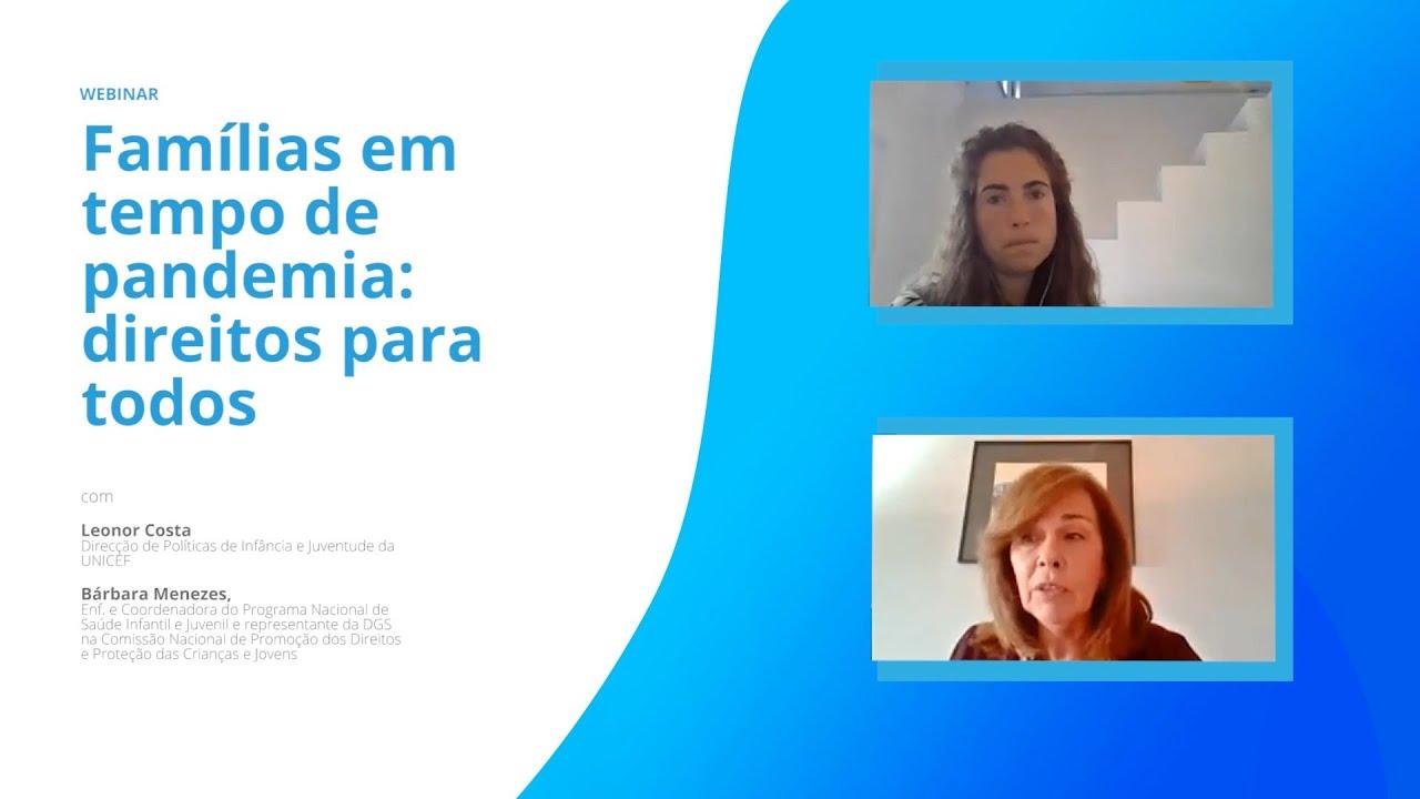 FAMÍLIAS EM TEMPOS DE PANDEMIA - DIREITOS PARA TODOS