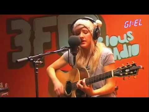 Ellie Goulding - Guns and Horses - Live at GIEL 3FM