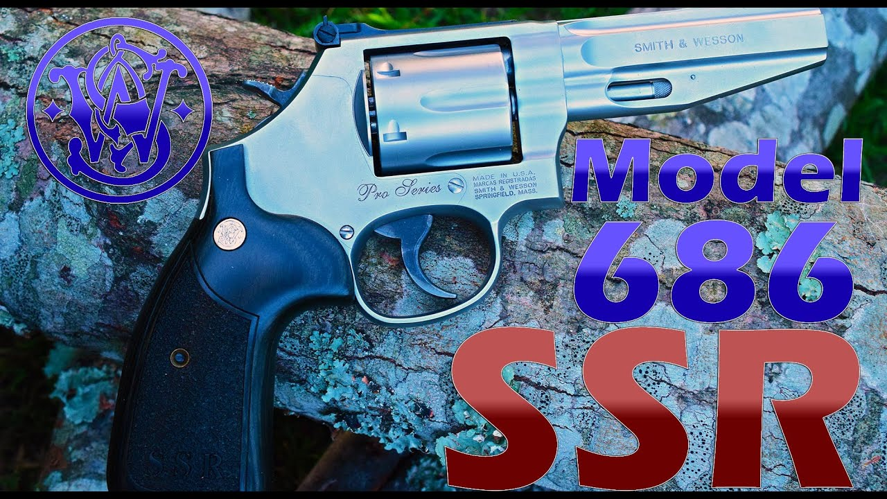 Smith Wesson 686 SSR The Ultimate Competition Revolver