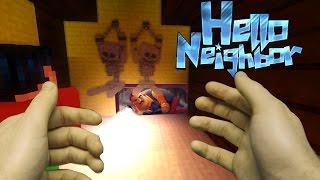 Realistic Minecraft: Hello Neighbor - Dead Bodies In the Attic!