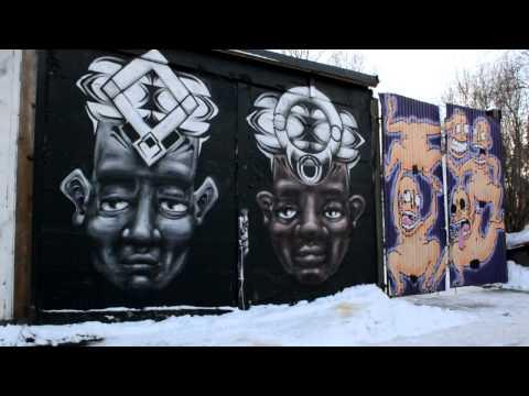 Snösätragränd   Stockholm's Largest Outdoor Graffiti Gallery