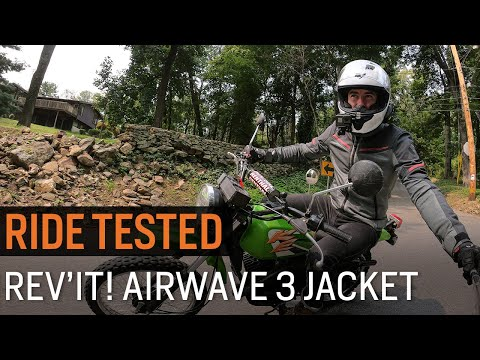 Thumbnail for Ride Tested Rev'it! Airwave 3 Jacket