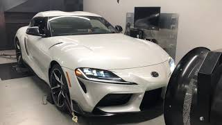 Proof that the 2020 Supra is not a BMW Z4 as well as DynoJet numbers.
