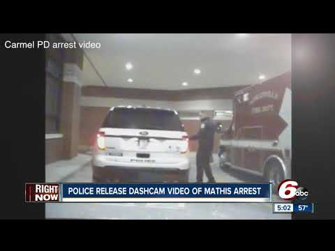 Robert Mathis DUI arrest video shows a failed sobriety test, drowsiness