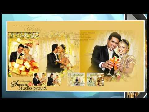 Wedding album creation with shakkya studio