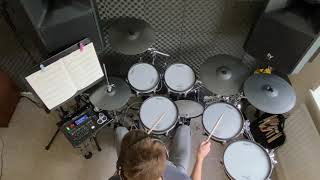 Trinity 2020 on drums. Caribbean Sunset (Track 3) Initial Grade.