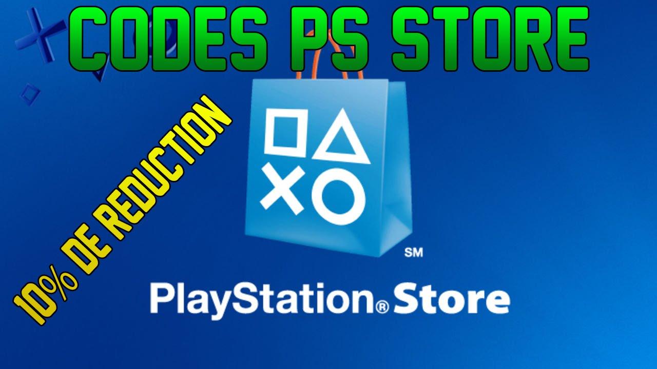 Sony Offre Des Codes De Reductions Pour Le Ps Store Youtube