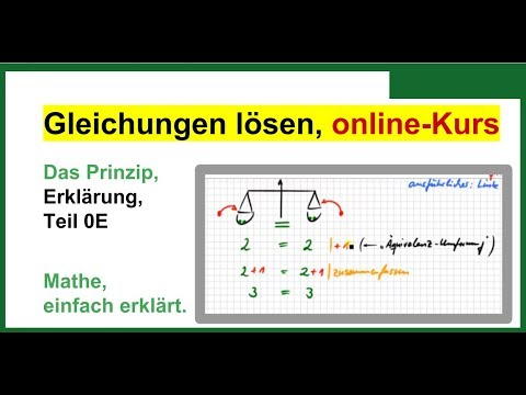gleichungen l sen formeln umstellen zuerst prinzip einfach erkl rt mooc gll00e youtube. Black Bedroom Furniture Sets. Home Design Ideas