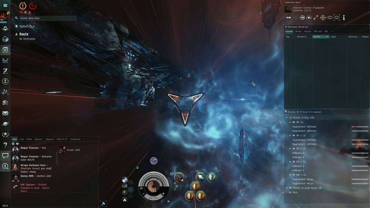 Eve Online Mtu
