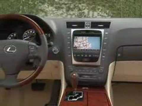 In The Driver's Seat of the 2008 Lexus GS450h - YouTube