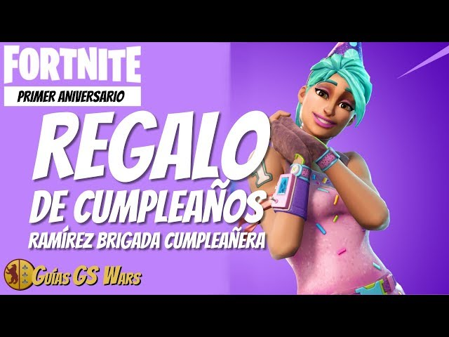 NOS REGALAN esta RAMÍREZ BRIGADA DE CUMPLEAÑOS | ¡Feliz Cumpleaños FORTNITE!