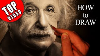 How to draw a realistic Einstein