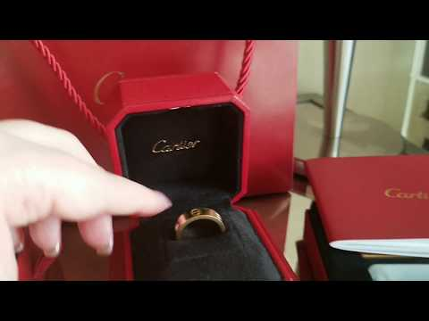 Cartier Love ring full review & Cartier info on new releases