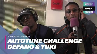 DEFANO EN YUKI (CONVO) OWNEN AUTOTUNE CHALLENGE!