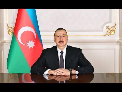 İlham Əliyevin 2018-ci yeni il münasibətilə Azərbaycan xalqına təbriki