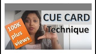IELTS CUE CARD how to speak on a given topic speech delivery
