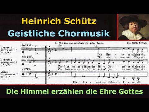 Heinrich Schütz - Die Himmel erzählen die Ehre Gottes (Herreweghe)