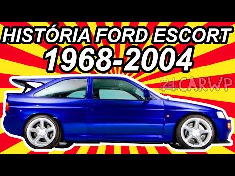 HISTÓRIA Ford Escort 1968-2004