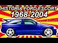 HIST�RIA Ford Escort 1968-2004