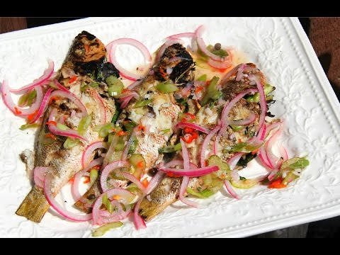 Grilled Jamaican Escovitch Fish -Tasty Tuesday's | CaribbeanPot Com